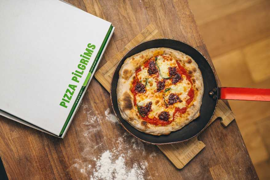 In crust we trust – how Pizza Pilgrims transformed their renowned Neapolitan pizzas into a frying pan wonder